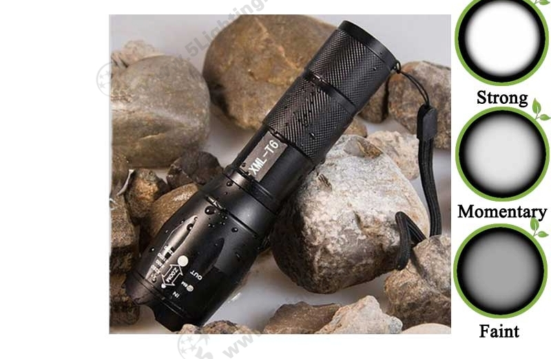 LED-Flashlights-CREE-2000Lm-Zoomable-High-Middle-Low-3-mode-1