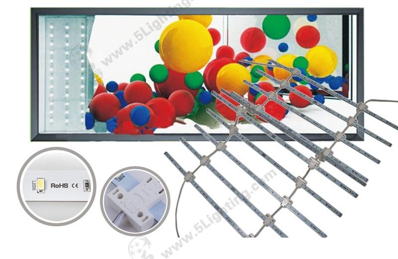 LED Lattice Backlight-SMD5630- Single-side-500mm-1-for-Light-Boxes