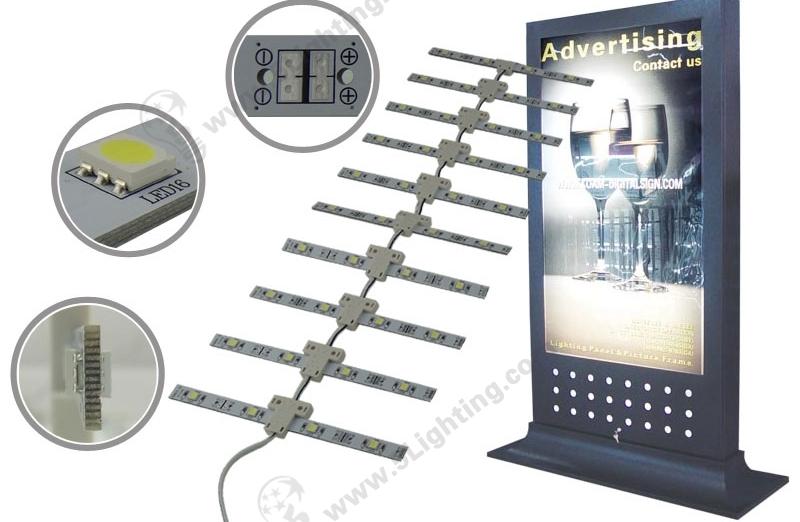 LED Lattice Backlight-SMD5050-Double-side-250mm-1