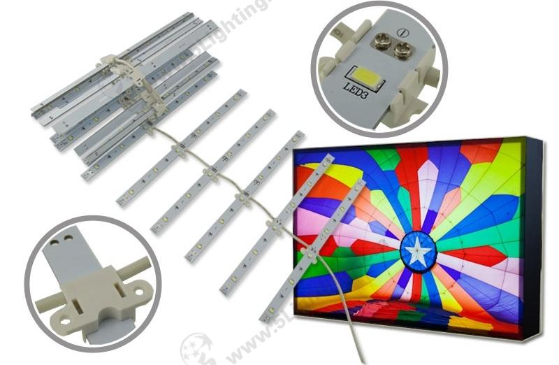 LED Lattice Backlight-SMD5630-Single-side-250mm-1