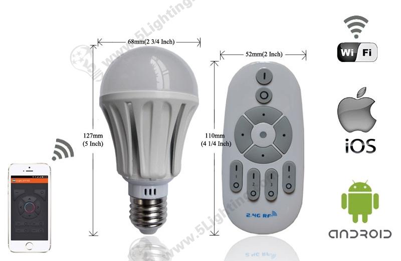 Smart LED Light Bulbs-7W-1