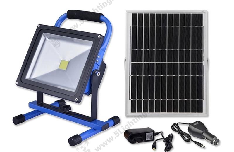 Solar LED Flood Lights-30W-1