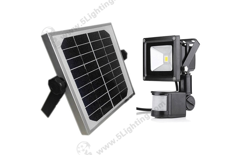 Solar Sensor Flood Lights-10W-1