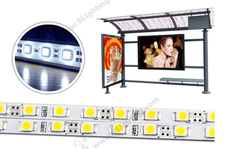 LED Rigid Strip Lights SMD2835 - 4mm-1