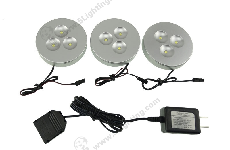 Cabinet LED Puck Light Kit - 1