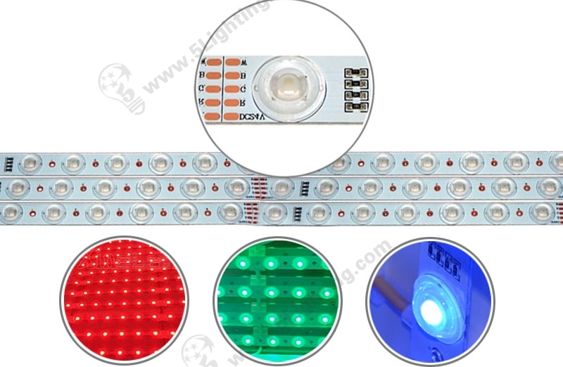 RGB LED Lattice Backlighting - 1