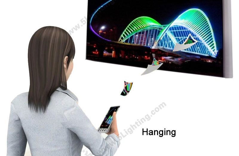 LED Sign Screen Hanging - 1
