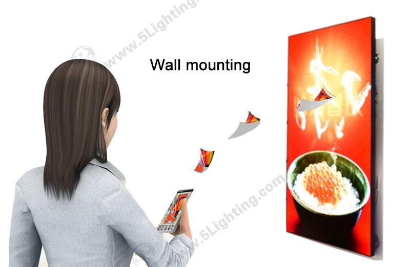 LED Sign Screen Wall Mounting - 1