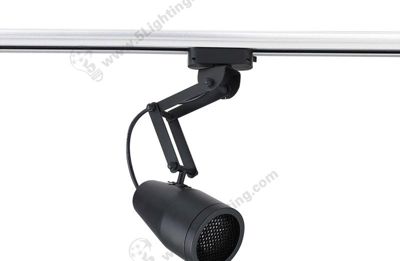 Retractable Track Lighting Adjustable Swing Arm Lighting