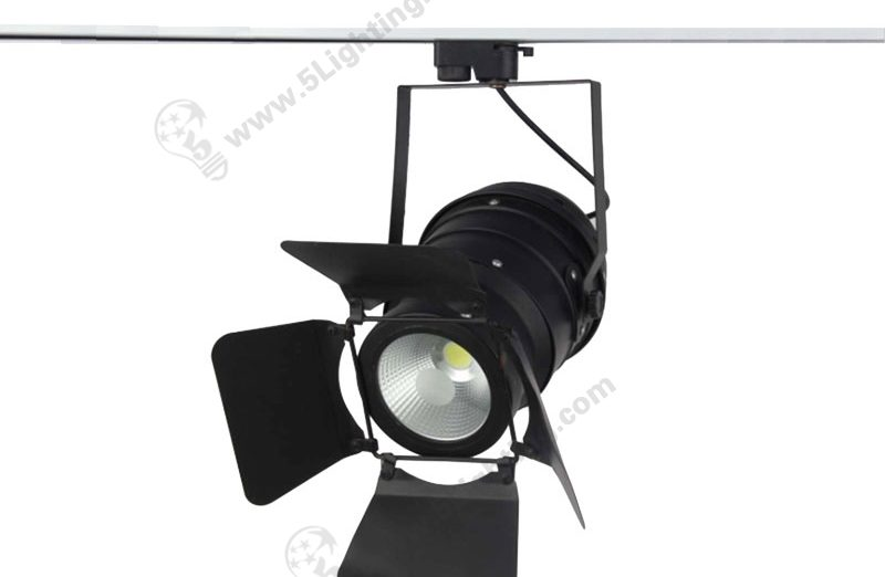 Track Lighting with Barn Doors - 50W - 1
