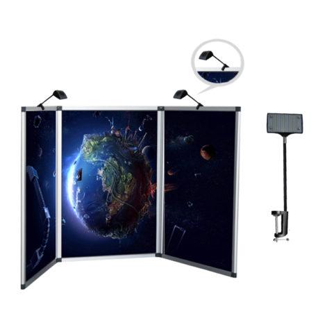 panel display board lights 10 W,display lights for folding panels 10 watts,exhibition lights for panel display 10W