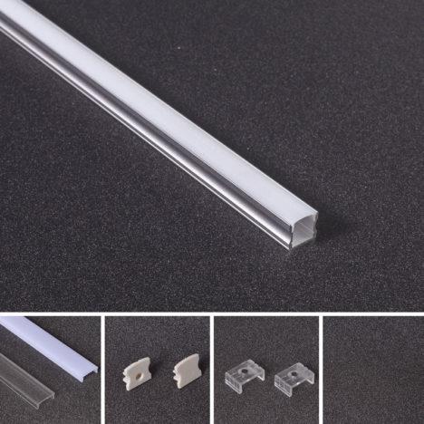recessed linear lighting profile