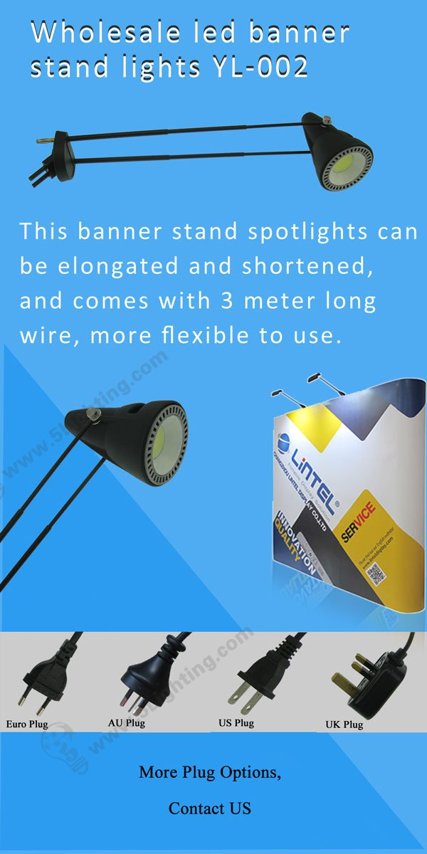 Roll up stand lights YL002