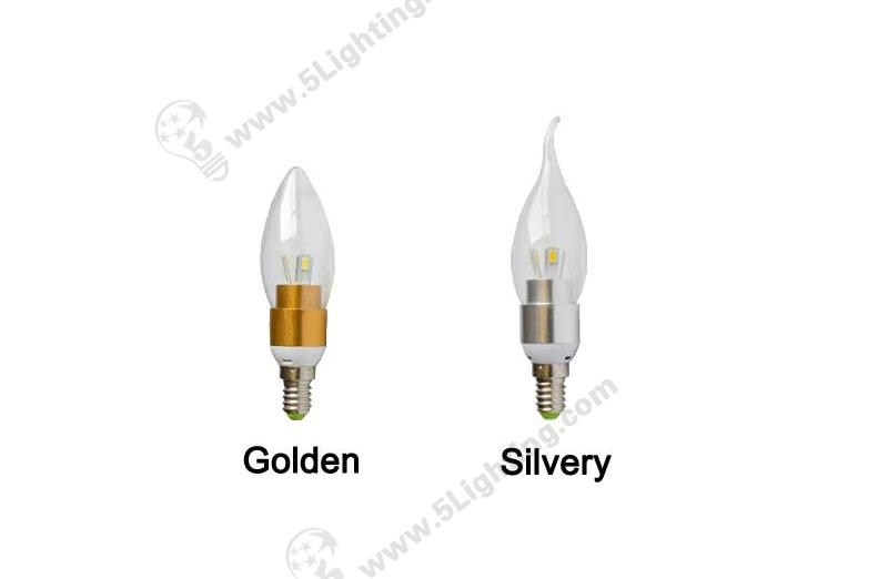 3W Led Candelabra Bulbs E12-1