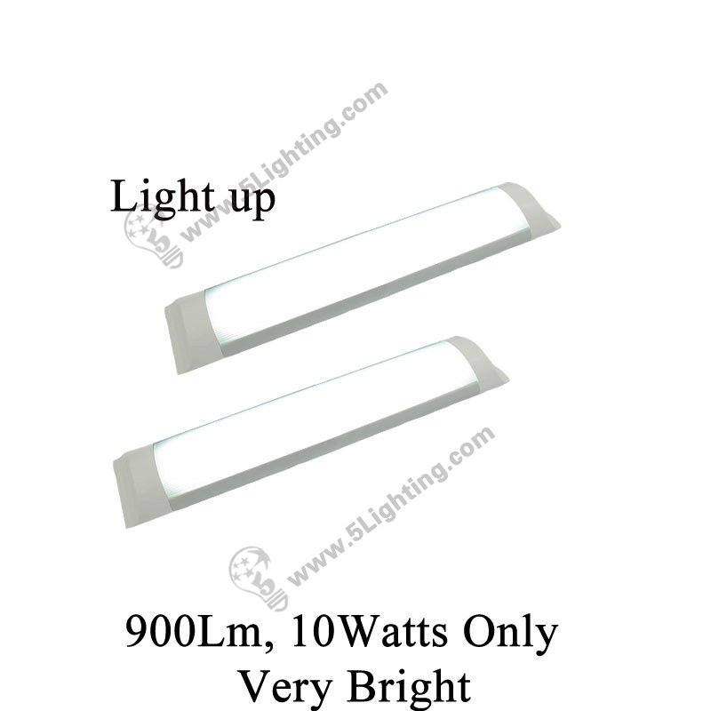 wholesale flat led tube lights 1ft