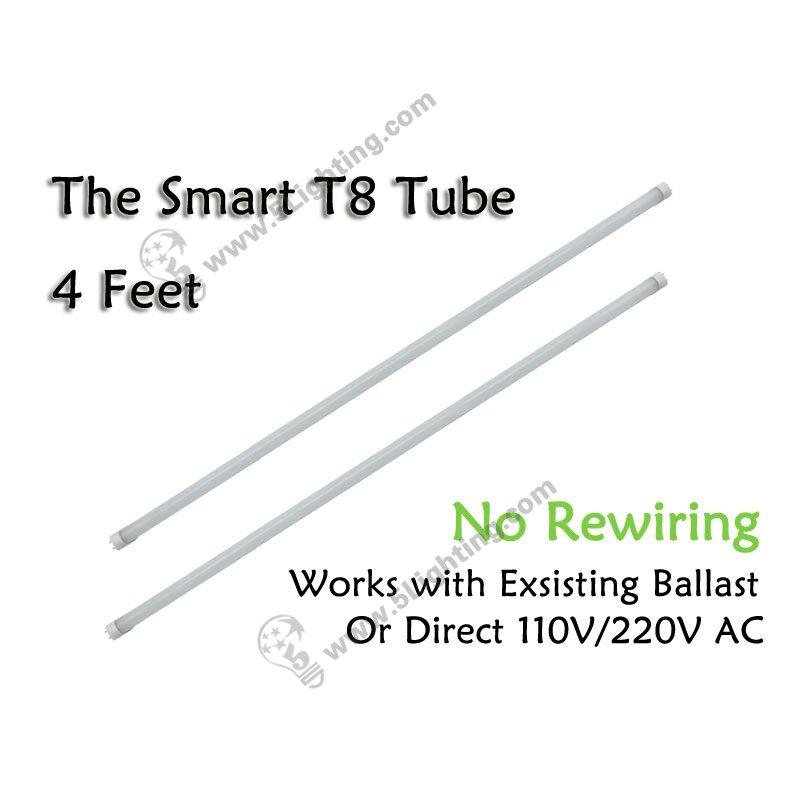 wholesale led t8 tube lights smart 4ft