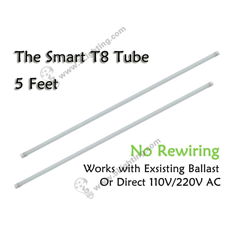 wholesale led t8 tube lights smart 5ft