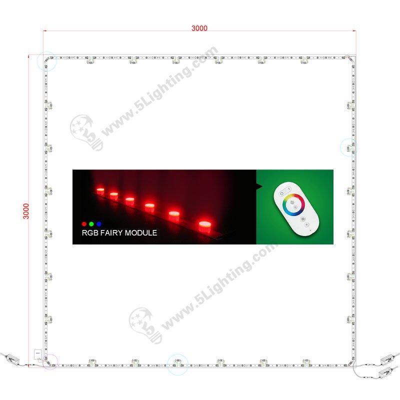 RGB led lights for light box