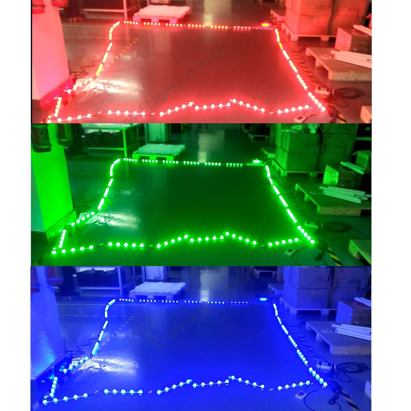 colorful led lighting for fabric light boxes