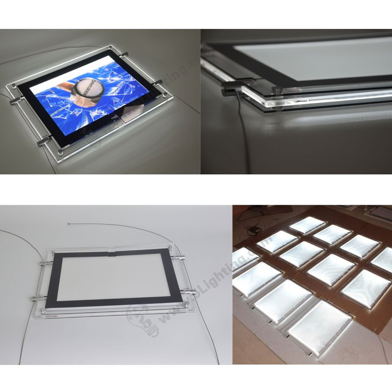 acrylic led light boxes,landscape / horizontal installation