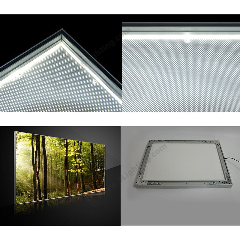 backlit tension fabric light boxes