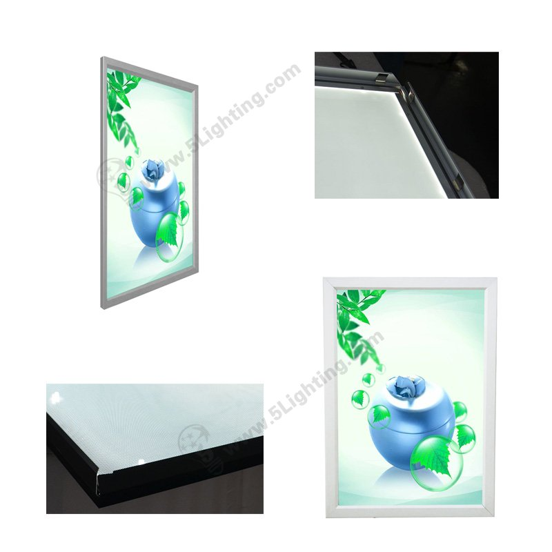 large size ultra slim led light boxes