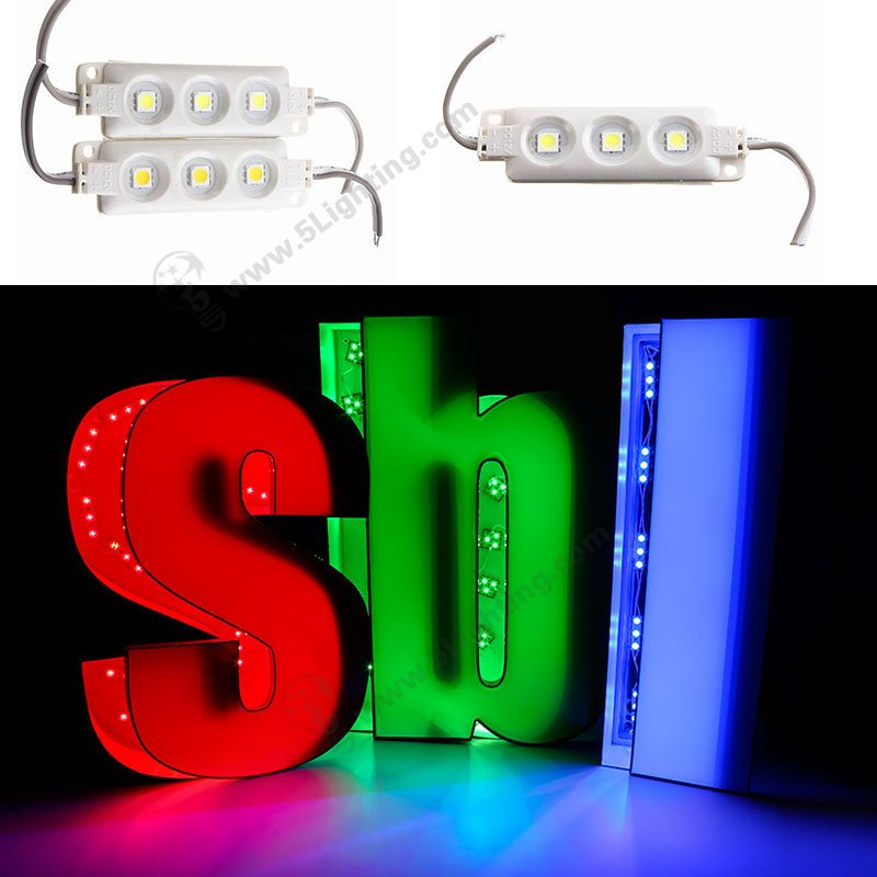 5050 SMD led module for sign and signage