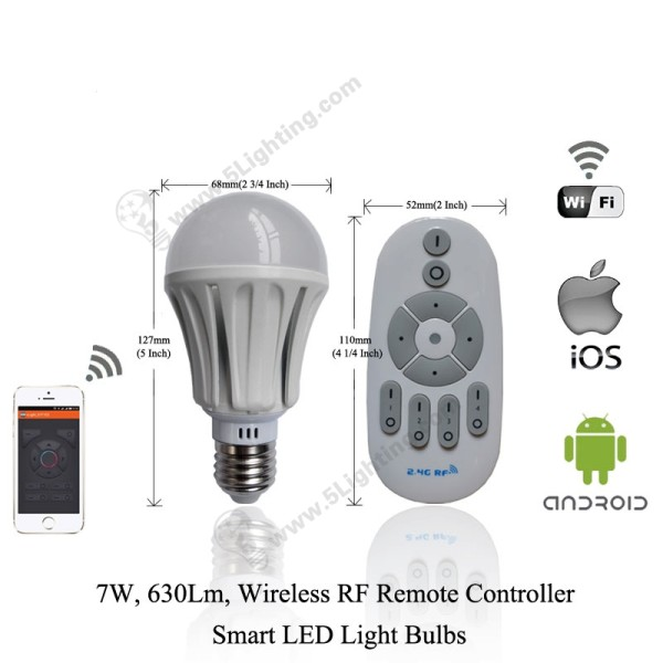Smart LED Light Bulbs-7W-1