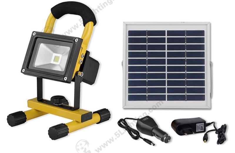 Solar LED Flood Lights-10W-1