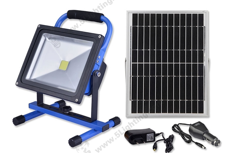 Solar LED Flood Lights-30W-1