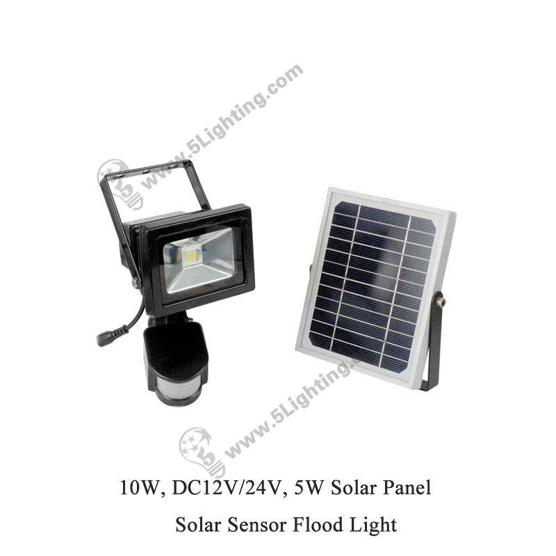 Wholesale 10w Solar Sensor Flood Lights 10w Led Motion