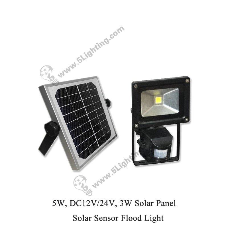 Wholesale 5w Solar Sensor Flood Lights 5w Led Motion