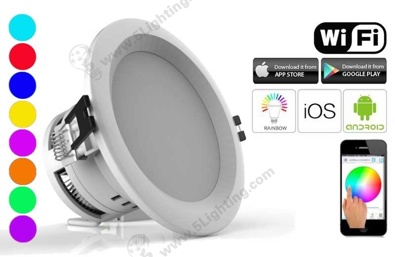 WiFi Smart LED Downlights RGBW-7.5-A-1