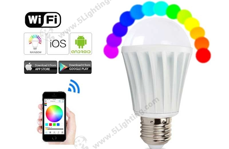 WiFi Smart Light Bulbs RGBW-7W-A-1