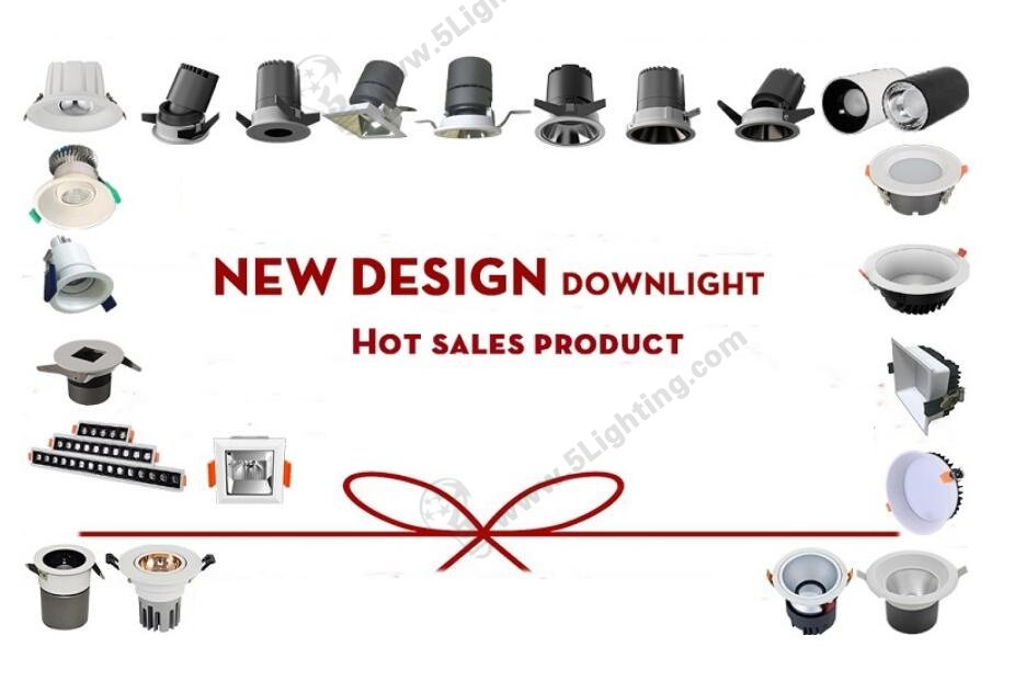 led recessed downlights fashionable series