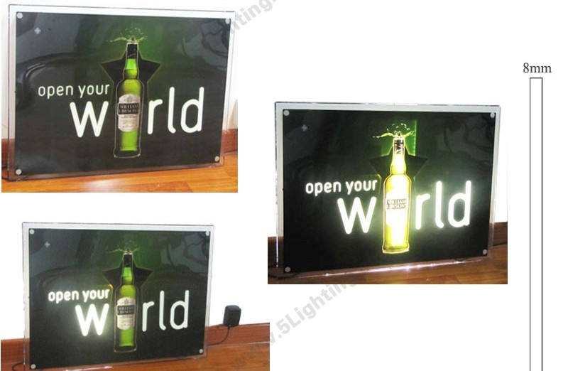 LED Dynamic Light Box Slim - 1