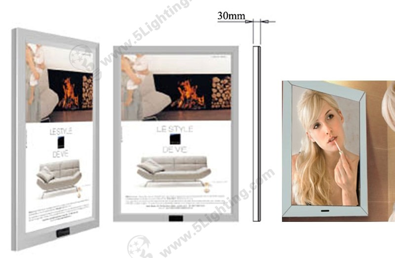 Magic Mirror Light Box Induction - 1