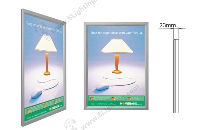 Super Slim Light Boxes Single Side Aluminous - 1