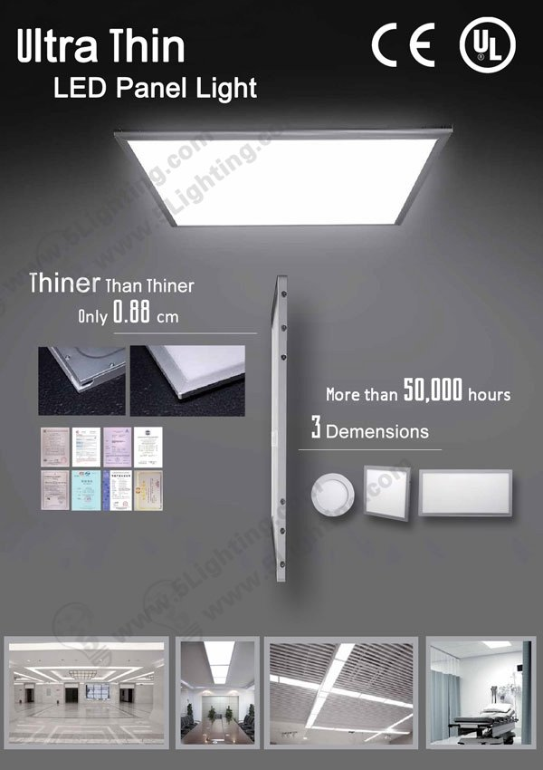 UL LED Panel Lights