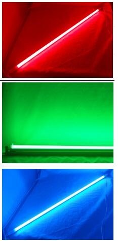 colorful t5 led tube lights