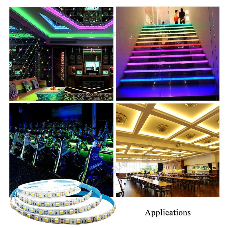 Led Strip Light Smd 5050 150leds 12v 24v Led Tape Light