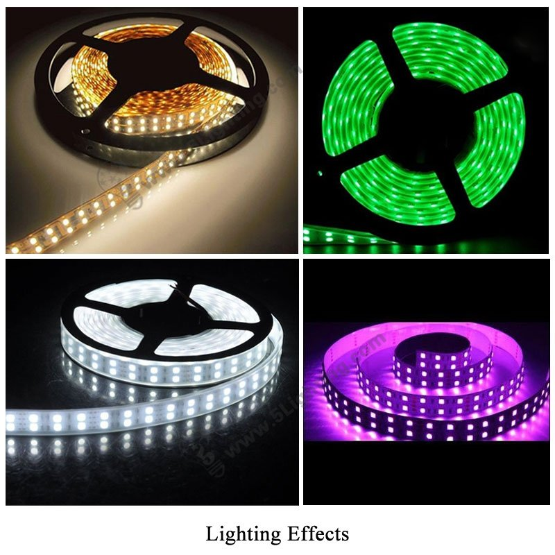 Double Line Led Strip Smd 3528 High Density Double Row