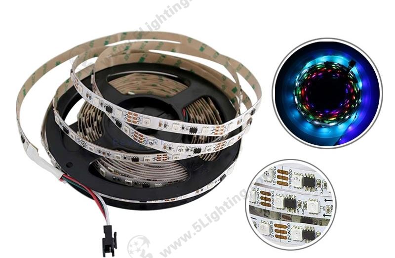 SMD 5050 IC LED Strip - 1