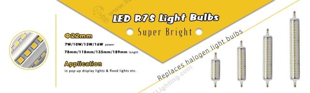 LED R7S Light Bulbs