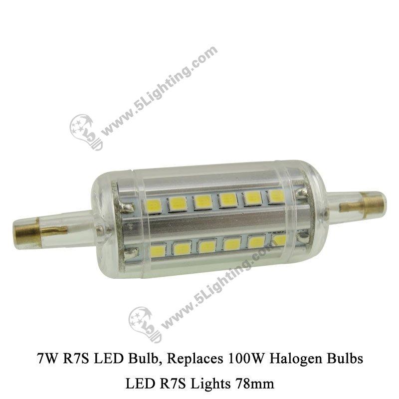 led r7s lights 78 mm for 100 watts halogen r7s light bulbs. Black Bedroom Furniture Sets. Home Design Ideas