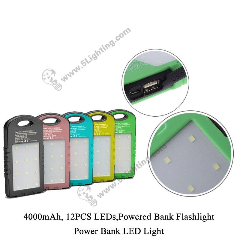 Power Bank LED Light 5L-4000B - 1