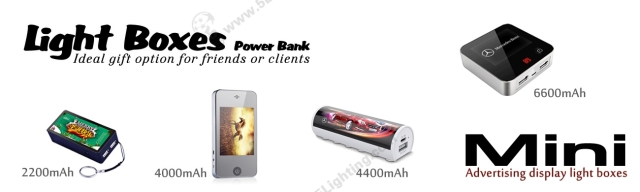 Power Bank Light Boxes Banner - 1
