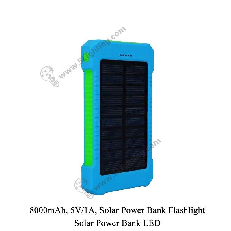 Solar Power Bank LED 5L-8000 - 3