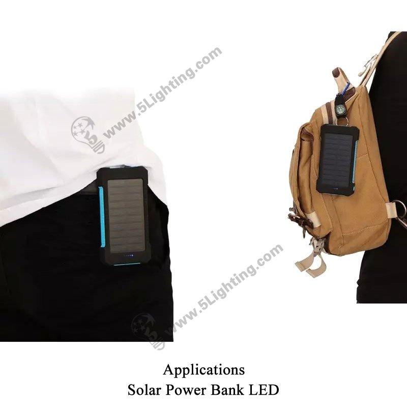 Solar Power Bank LED 5L-8000 - Applications