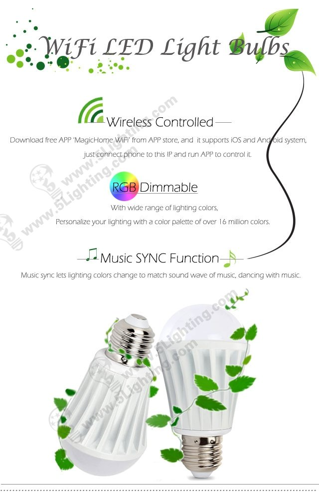 Wifi LED Light Bulbs